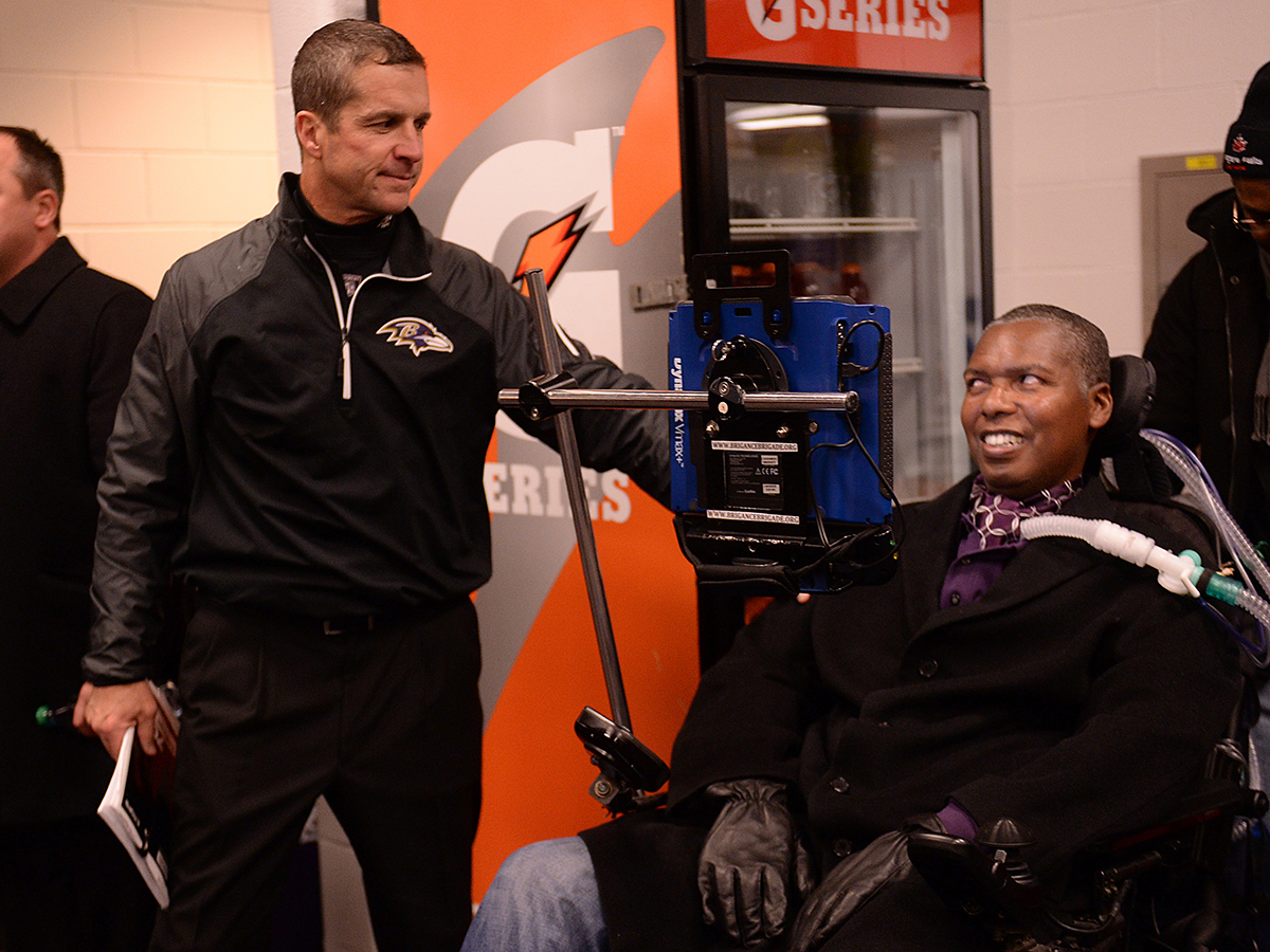 ALS may slow, but not stop O J  Brigance - GlobalSport Matters