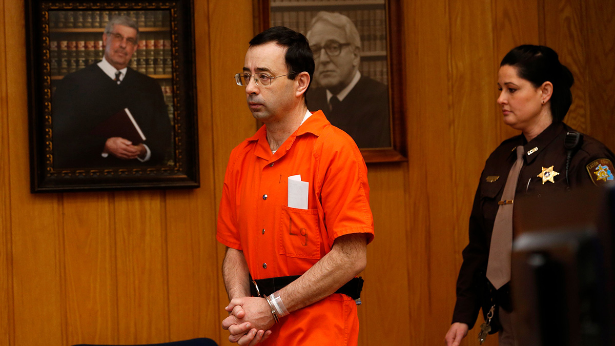 Larry Nassar, Michigan State, Gymnastics