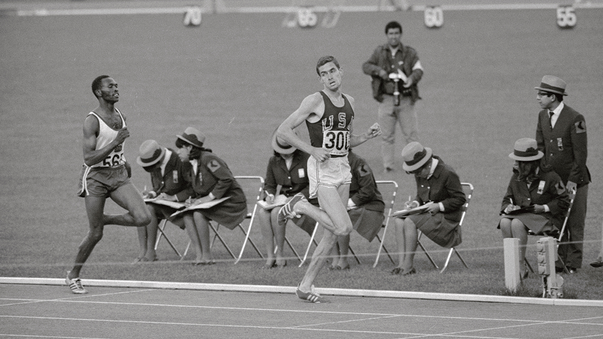 Jim Ryun running for team U.S.A.