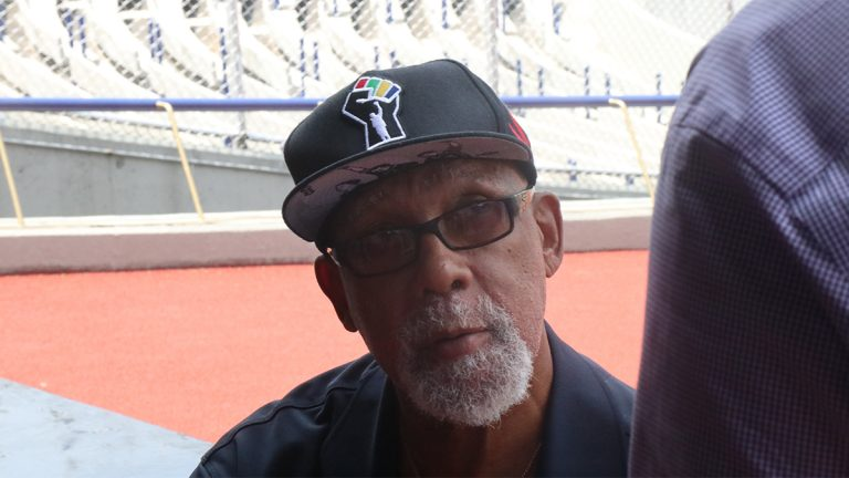 Closeup of John Carlos