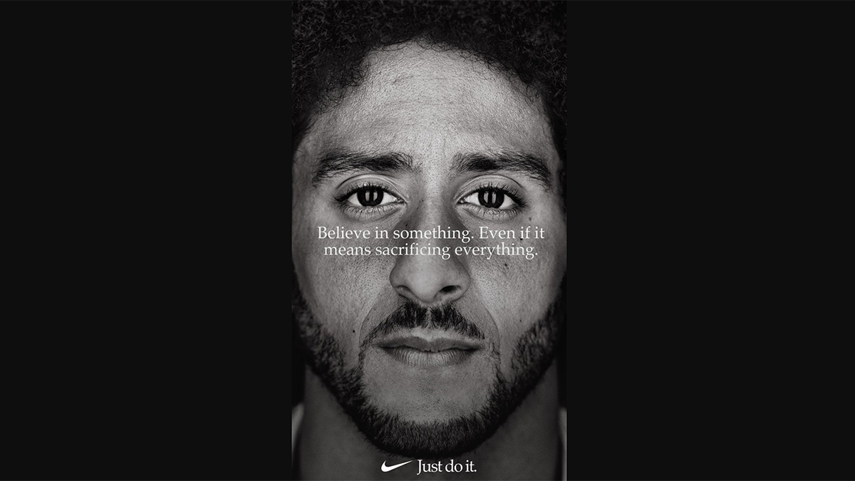 Colin Kaepernick Nike just do it ad