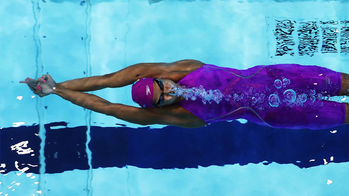 Former aerospace engineer giving U.S. swimmers an edge