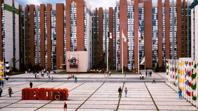 1968 Mexico City Olympic Village