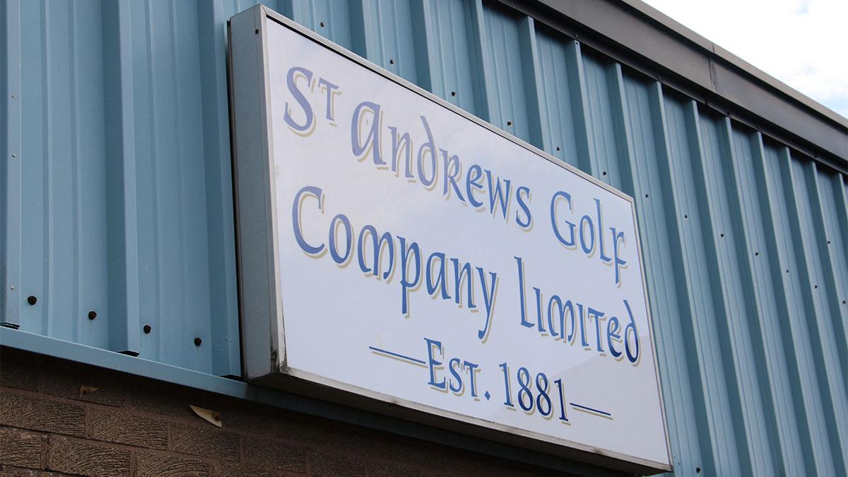 St. Andrews Golf Co., hickory clubs, golf, Scotland