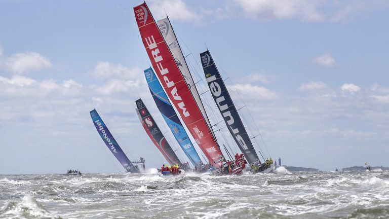 Volvo, Ocean Race, sustainability, plastics,