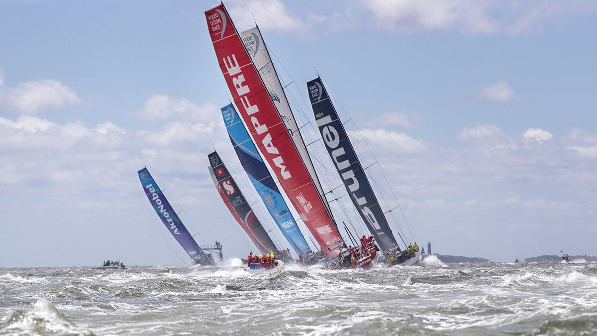 Volvo, Ocean Race, sustainability, plastics,