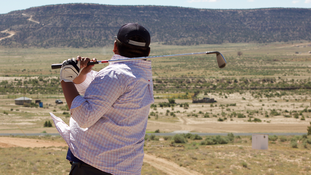 Navajo, golf, rez golf