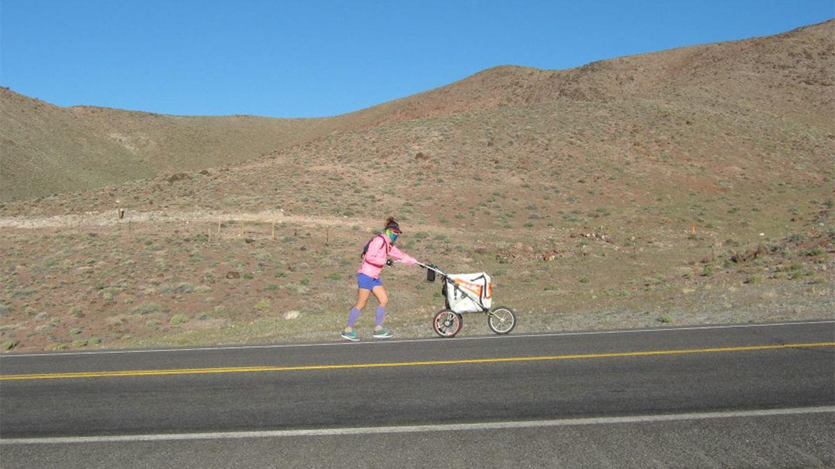 Jessica Goldman, solo runner