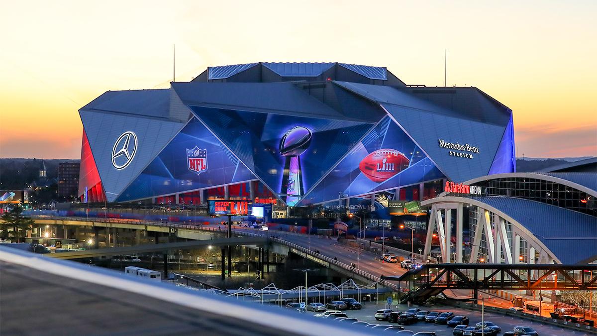 Mercedes Benz Stadium, Atlanta