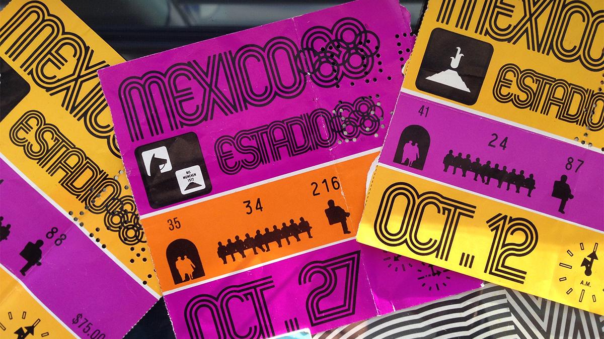 1968, Mexico City Olympics, tickets