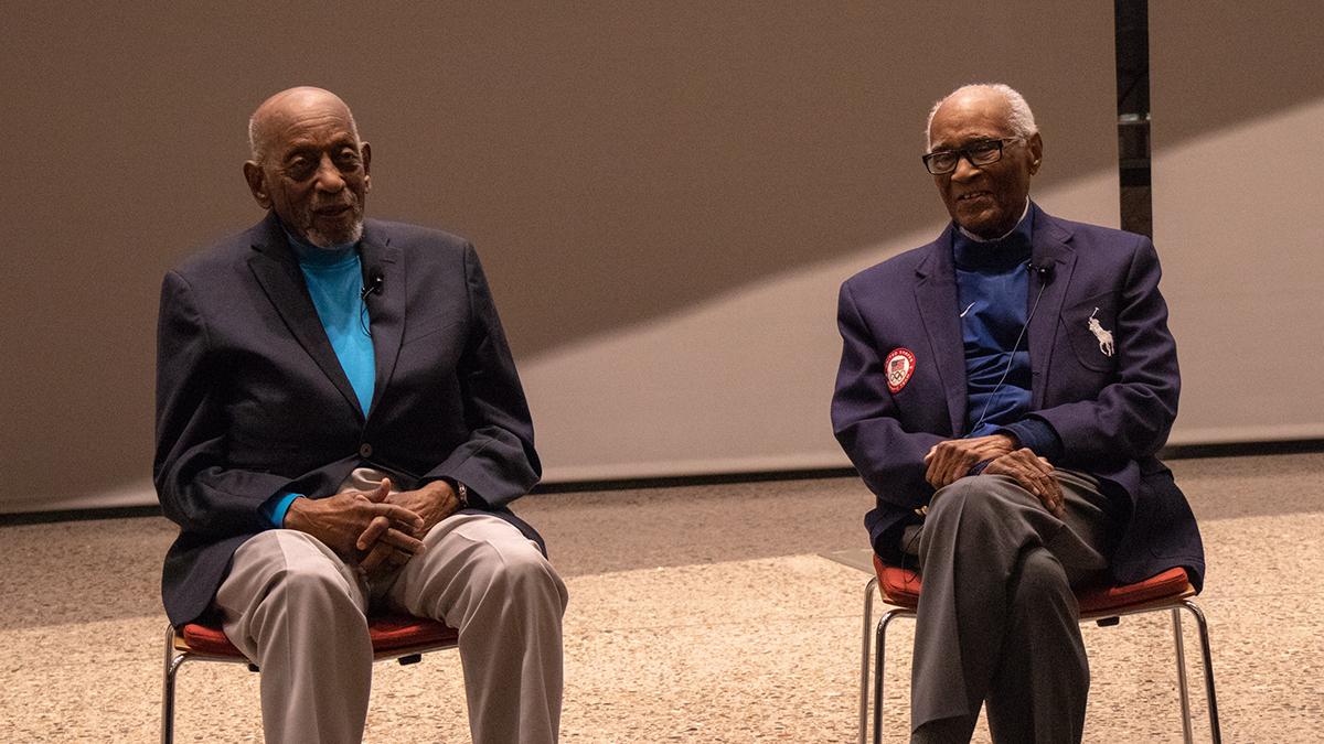 Harrison Dillard, Herb Douglas, Olympics, medalists