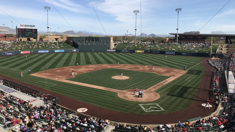 Spring Training Game at Salt River Fields in Scottsdale, AZ