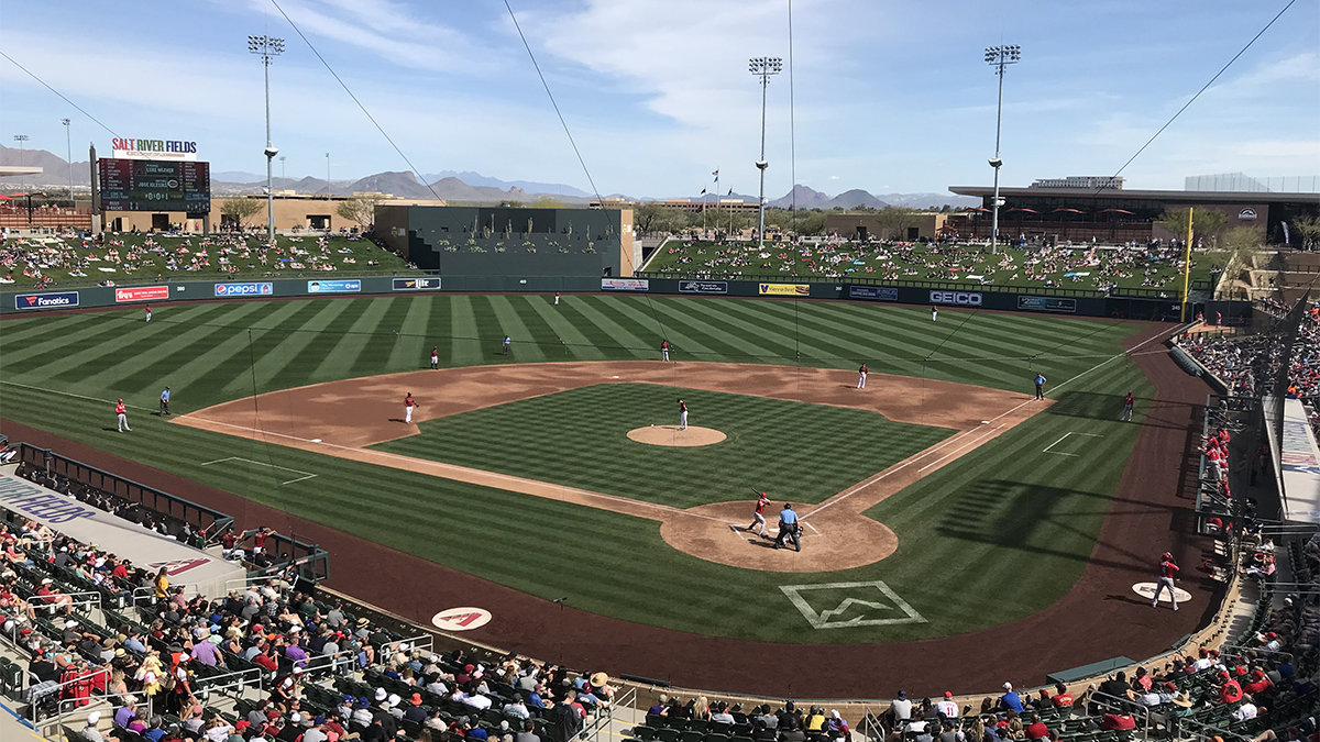 spring training, Arizona Diamondbacks, Salt River Fields
