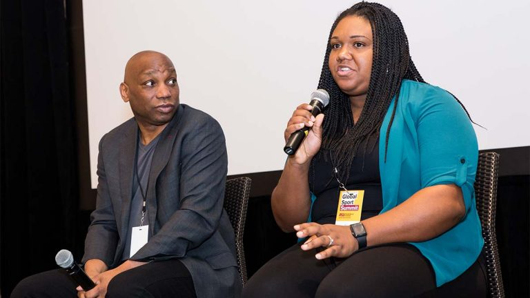 Howard Bryant, Amira Rose, Global Sport Summit