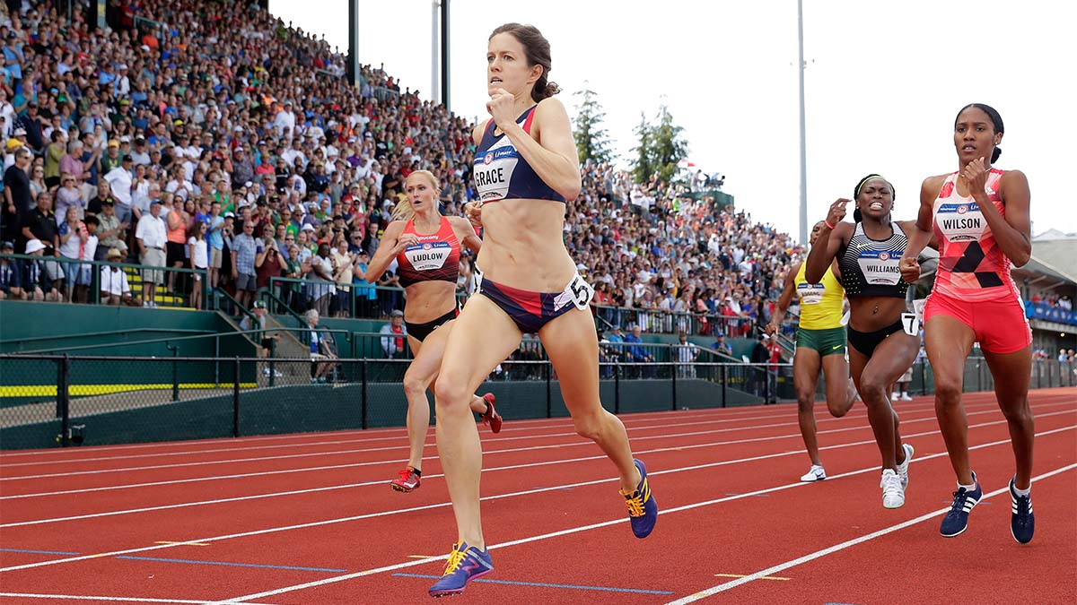 Kate Grace, run, 800m, Olympic trials