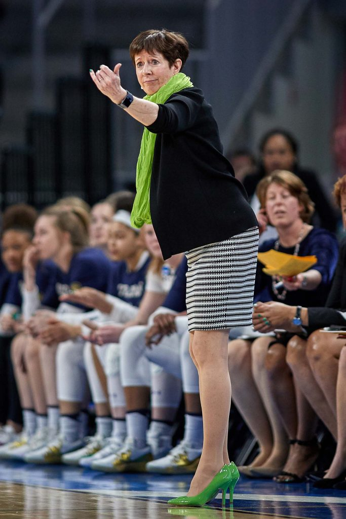 Muffet McGraw, Notre Dame, women's basketball, NCAA