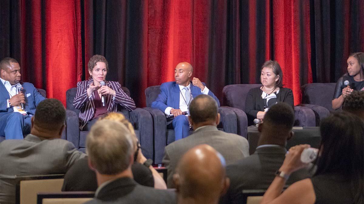Global Sport Summit, Troy Vincent, Renee Tirado, Lori Okimura, Jeffrey Orridge,