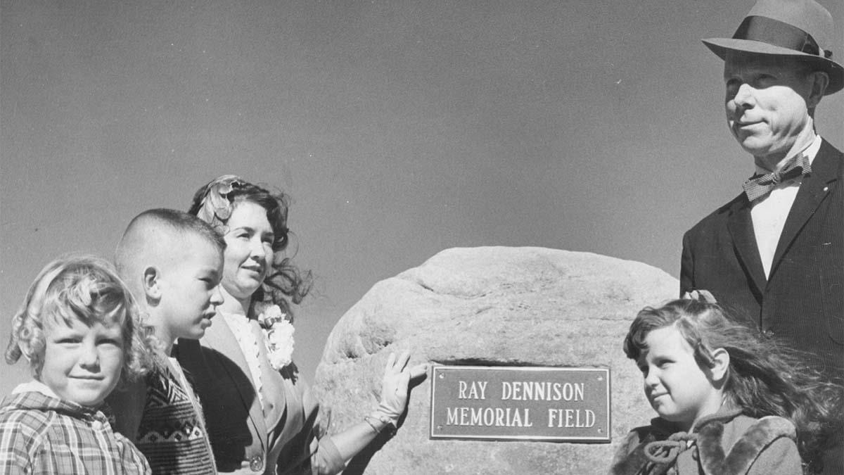 Ray Dennison, NCAA