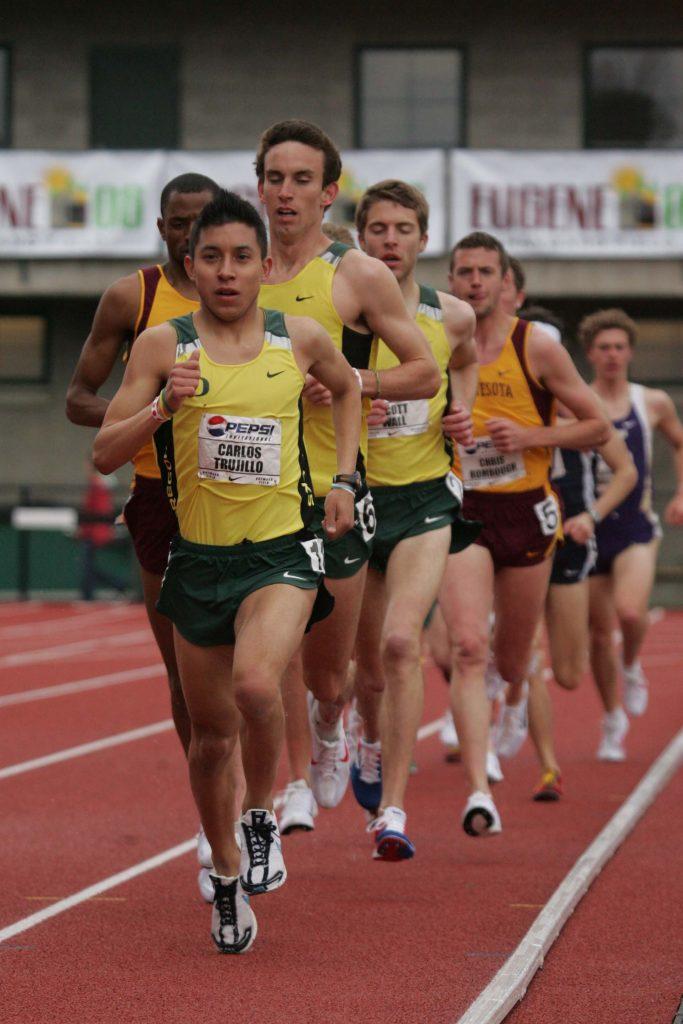 Carlos Trujillo, Oregon, marathon