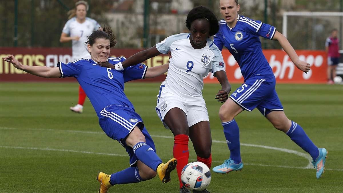 Eniola Aluko, England, women's soccer, women's world cup