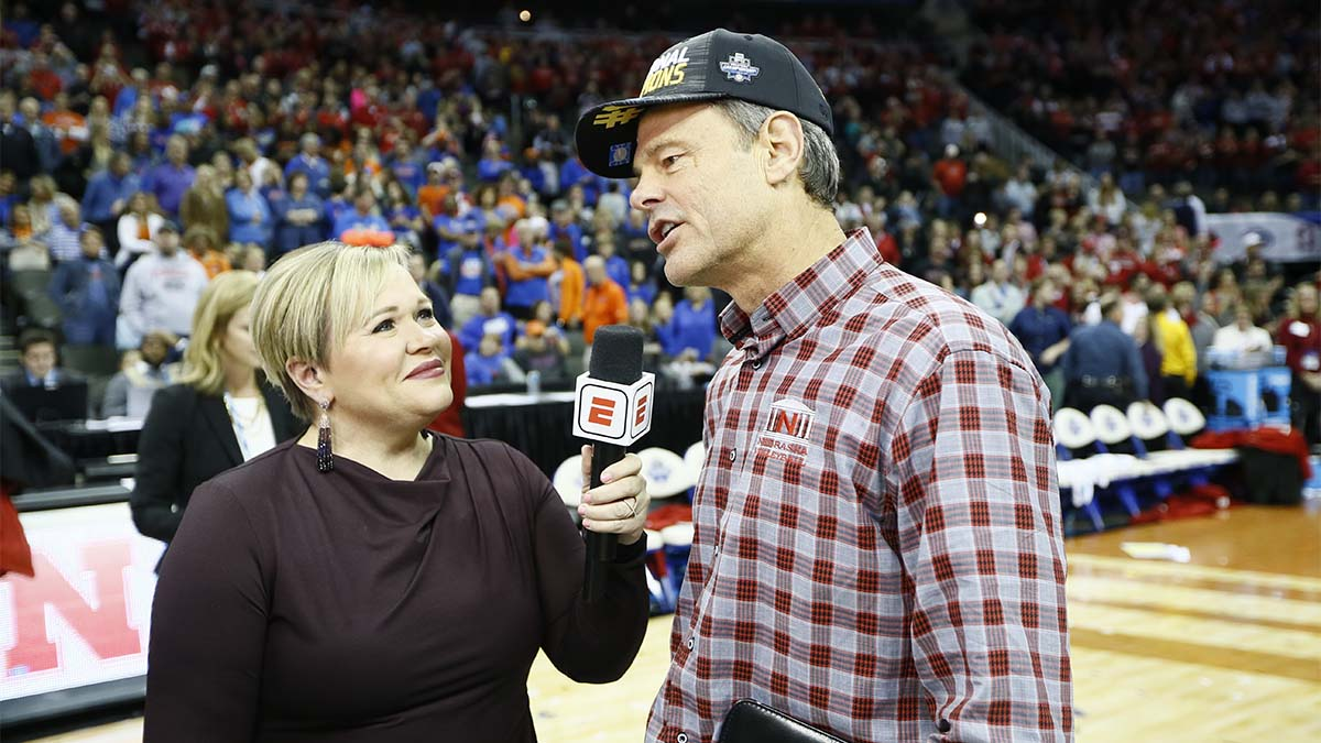 Holly Rowe, sports media, John Cook, ESPN