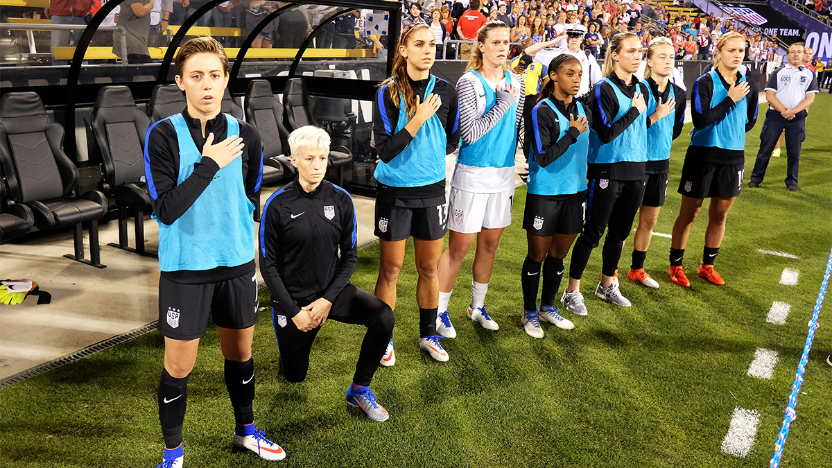 Megan Rapinoe, USWNT, National Anthem