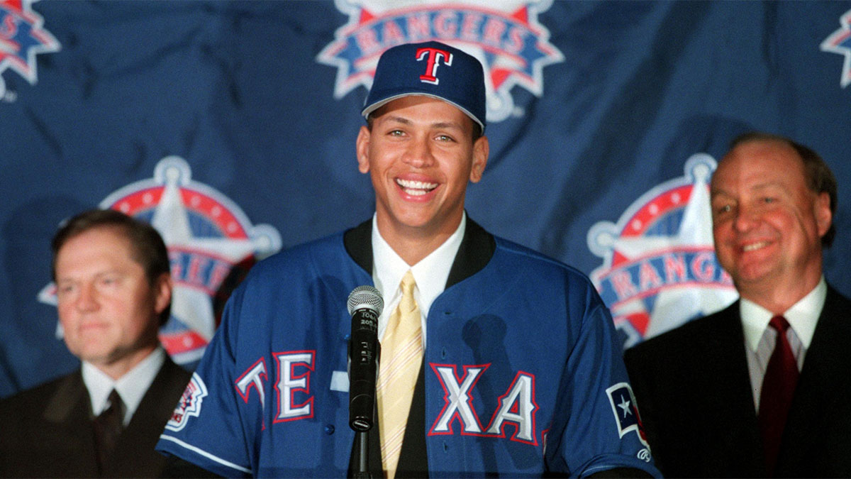 Alex Rodriguez, Texas Rangers, MLB