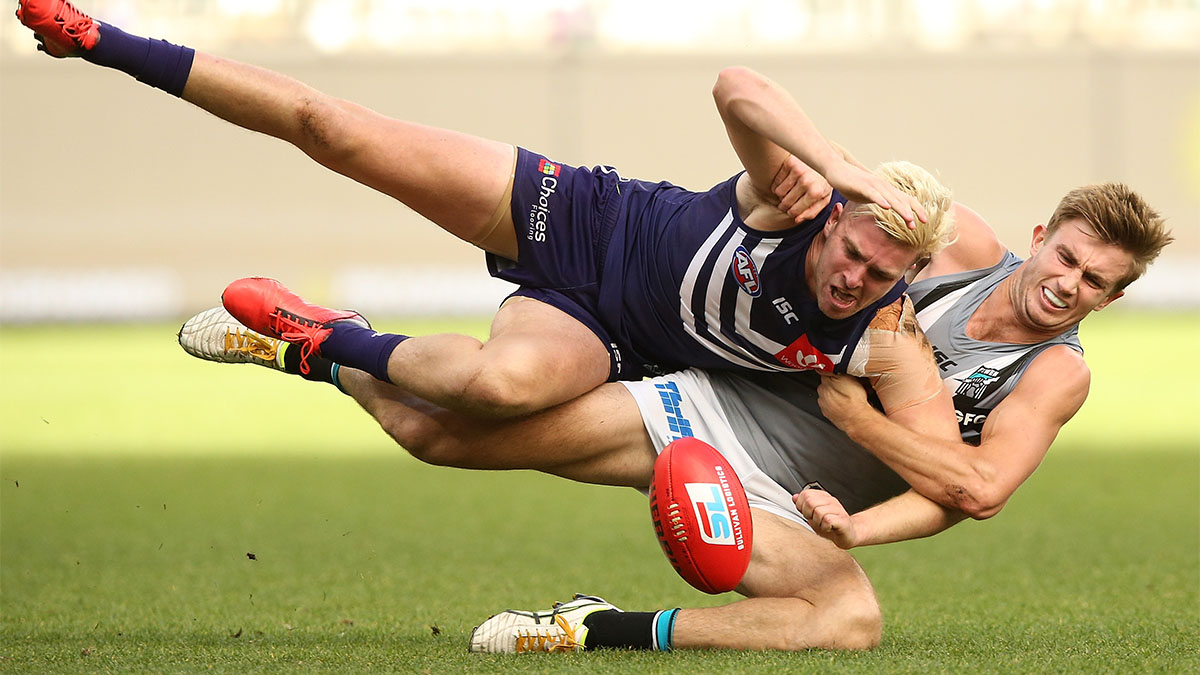 Australian Rules Football, Douglas Howard, Power, Luke Ryan, Dockers