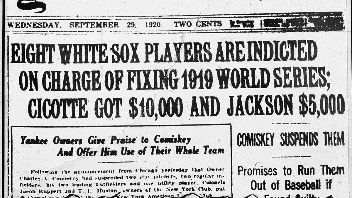 Image result for Black Sox Scandal