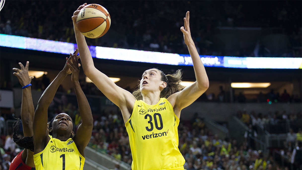 Breanna Stewart, Seattle Storm, WNBA