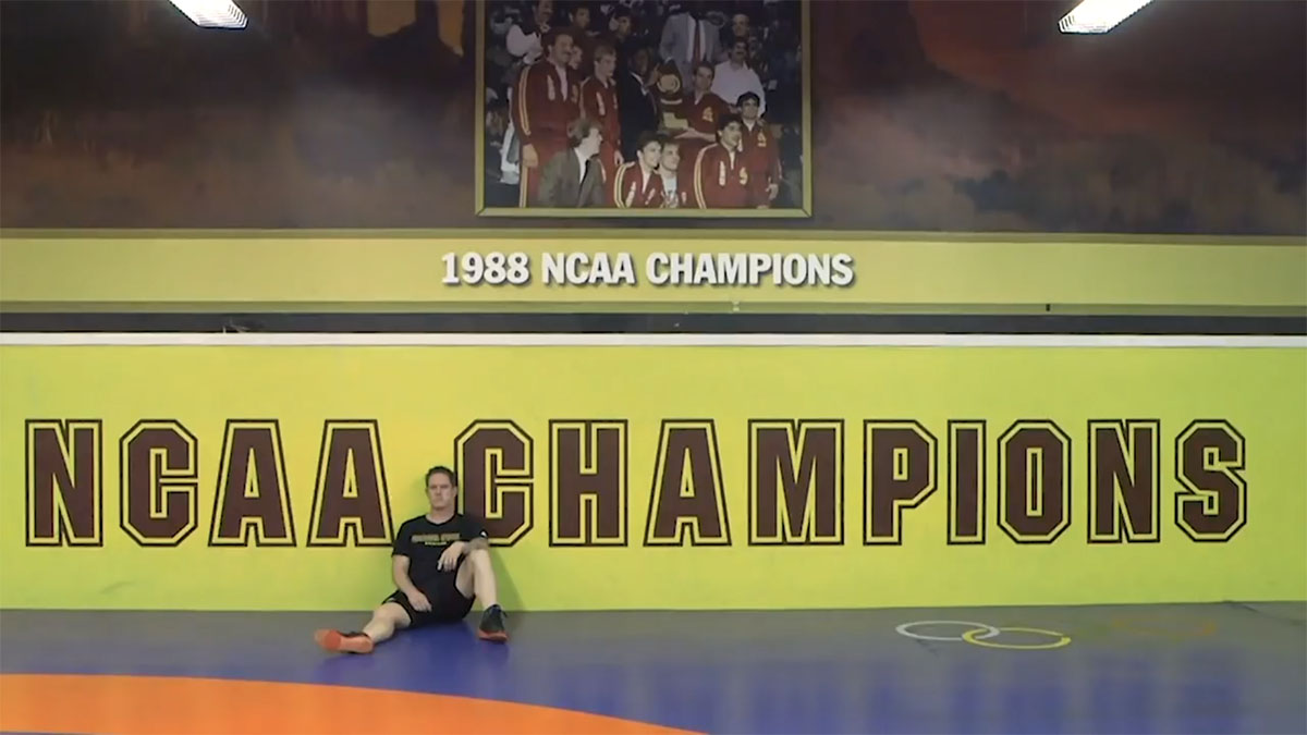 Wrestling gave former Green Beret passion, a second chance