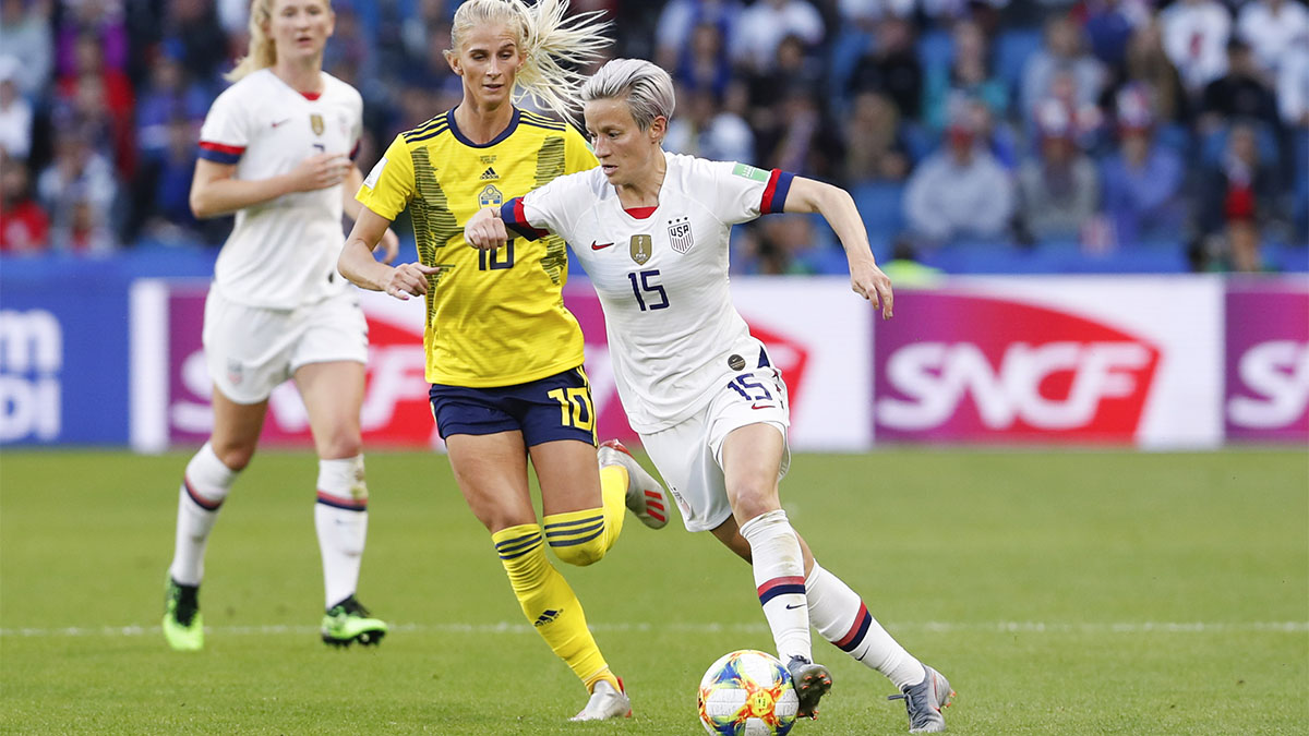 Megan Rapinoe, USWNT, U.S. women's national soccer team, Women's World Cup