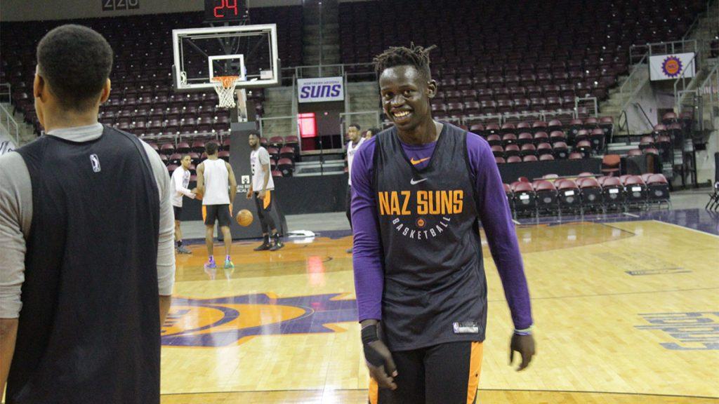 Peter Jok, Northern Arizona Suns, basketball