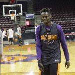 South Sudan never far from mind of Northern Arizona Suns' Peter Jok
