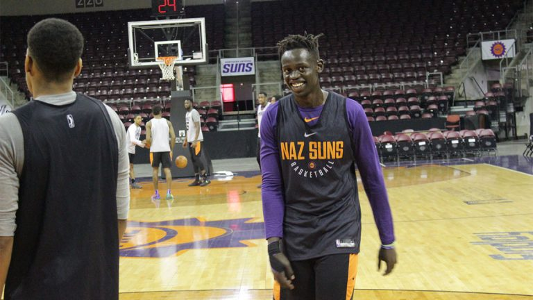 Peter Jok, Northern Arizona Suns, basketball