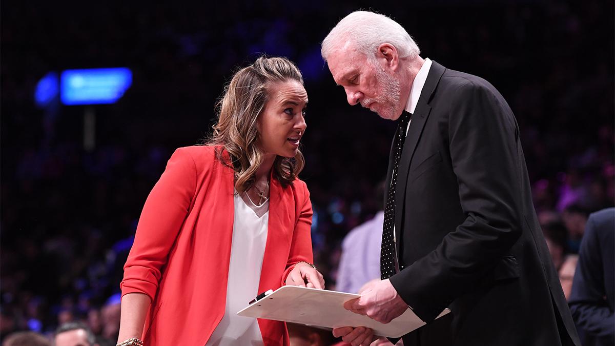 Becky Hammon, San Antonio Spurs, NBA