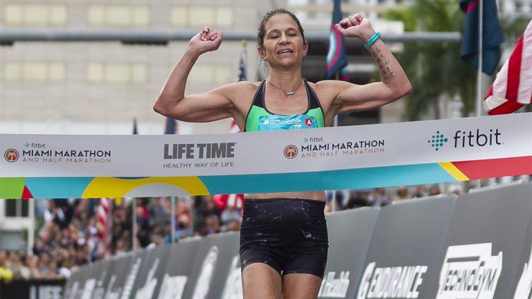 Kate Landau, marathon