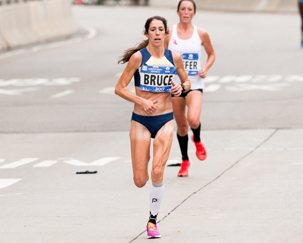 Stephanie Bruce, New York City Marathon
