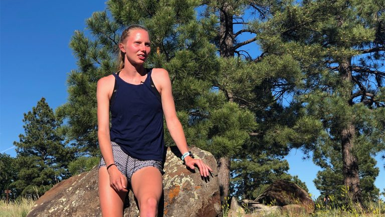 Flagstaff, Arizona, running, Courtney Barnes