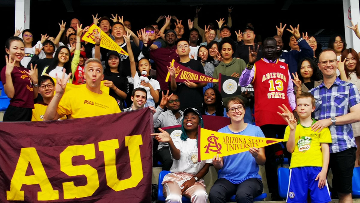 Arizona State University, hockey, China