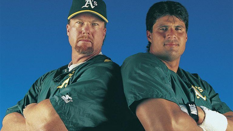 Mark McGwire, Jose Canseco, Oakland As, steroids
