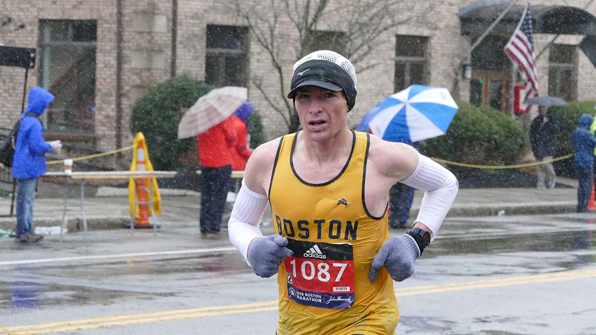 Mario Fraioli, Boston Marathon, eating disorder