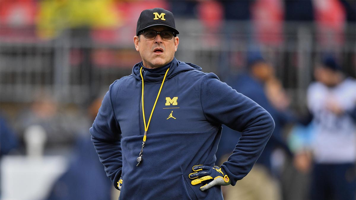 Jim Harbaugh, Michigan, mental health