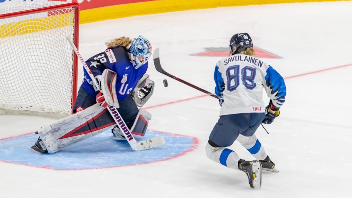 Finnish ice hockey, Alex Rigsby, IIHF Women's World Championship, women's ice hockey