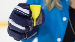 Finnish ice hockey, menstrual cup, Lunette