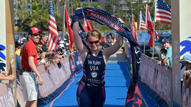 Nicole Ver Kuilen, Forrest Stump, USA Triathlon
