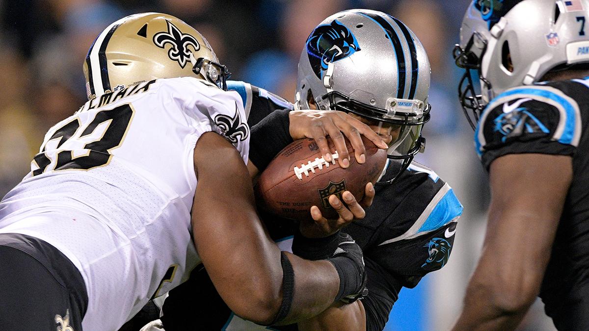 Cam Newton, Carolina Panthers, New Orleans Saints