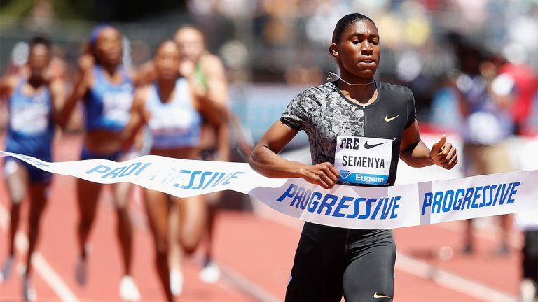 Caster Semenya, South Africa, runner, intersex