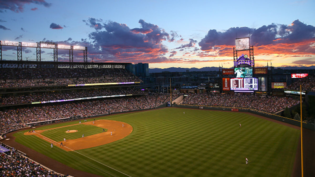 Coors Field, Colorado Rockies, MLB