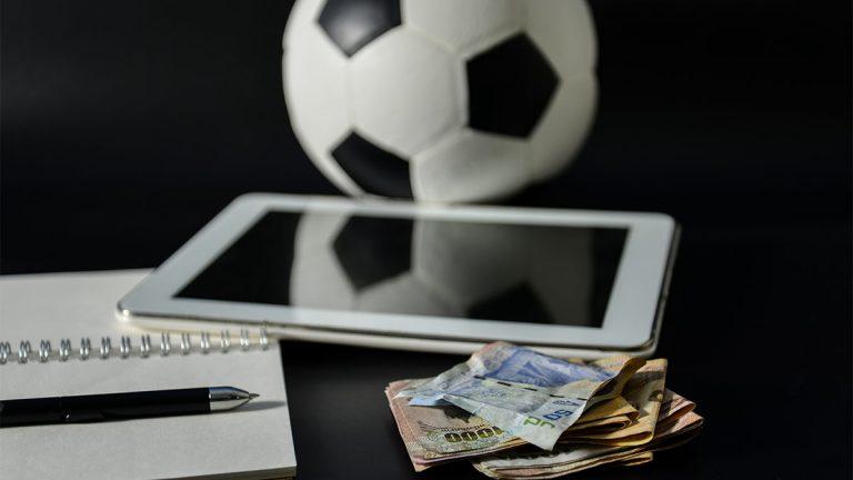tablet, money, football,